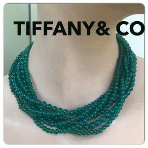 🔴Authentic TIFFANY & CO Torsade Necklace 🌺💗🟣